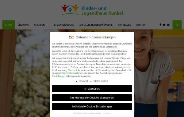 Vorschau von kinderheim360.de, Kinder- und Jugendhaus Funk gGmbH