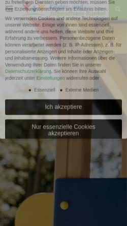 Vorschau der mobilen Webseite kinderheim360.de, Kinder- und Jugendhaus Funk gGmbH