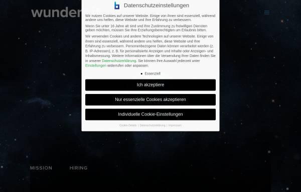 Vorschau von www.wunderbit.de, Wunderbit