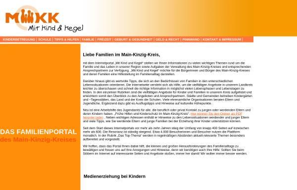 Vorschau von www.mitkindundkegel.de, Mit Kind und Kegel
