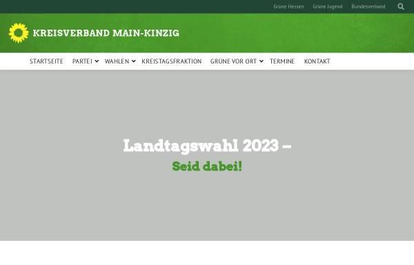 Vorschau von gruene-main-kinzig.de, Bündnis 90 / Die Grünen