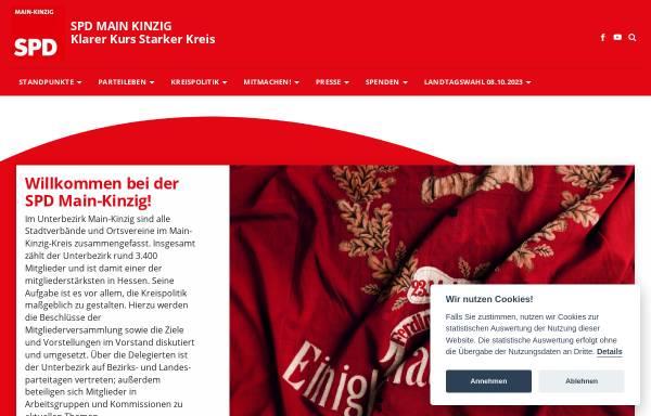 Vorschau von www.spd-mkk.de, SPD Unterbezirk Main-Kinzig