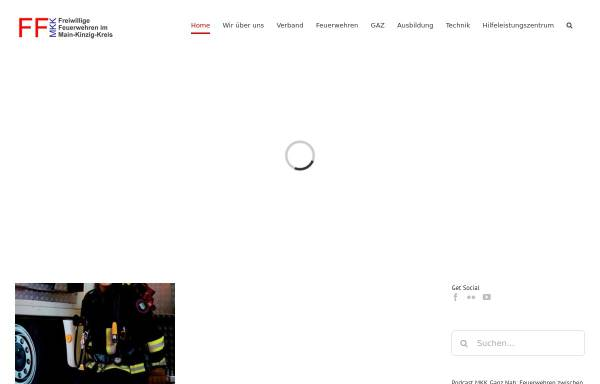 Vorschau von www.ffmkk.de, Kreisfeuerwehrverband Main-Kinzig-Kreis