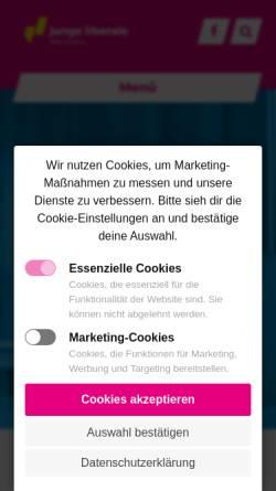 Vorschau der mobilen Webseite main-kinzig.junge-liberale.de, JuLis - Junge Liberale Kreisverband Main-Kinzig
