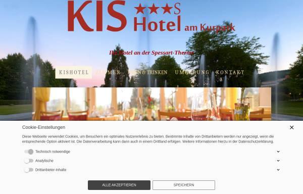 Vorschau von www.kishotel.de, KIS Hotel am Kurpark