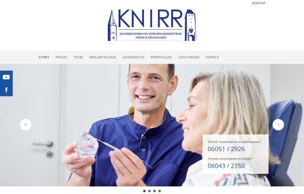 Vorschau von www.dr-knirr.de, Zahnarztpraxis Dr. Knirr