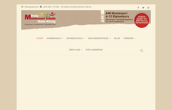 Vorschau von www.montessori-mkk.de, Freie Montessori Schule Main-Kinzig-Kreis