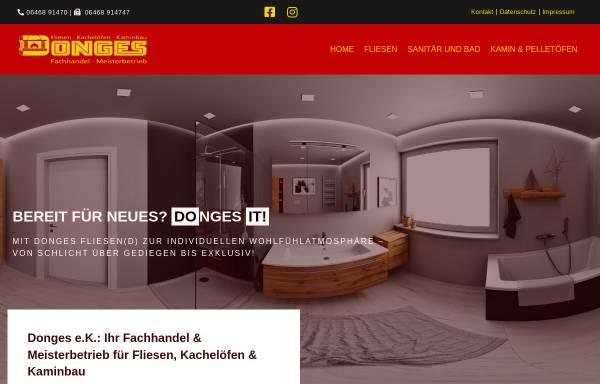 Vorschau von www.donges-dautphetal.de, W. Donges e.K. Inh. Uwe Donges