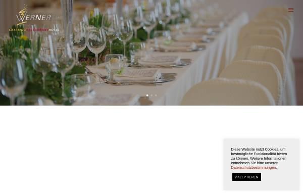 Vorschau von www.werner-catering.de, Werner Catering GmbH & Co. KG