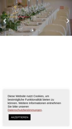 Vorschau der mobilen Webseite www.werner-catering.de, Werner Catering GmbH & Co. KG