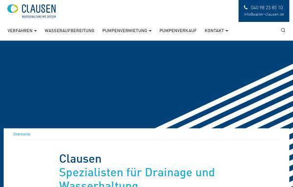 Vorschau von www.walter-clausen.de, Walter Clausen GmbH