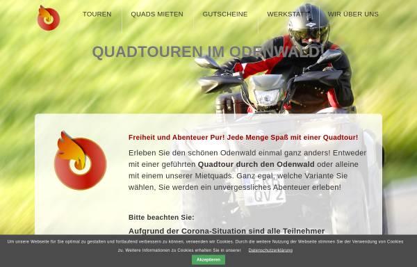 Vorschau von www.quadshop-online.de, Quadvermietung Odenwald