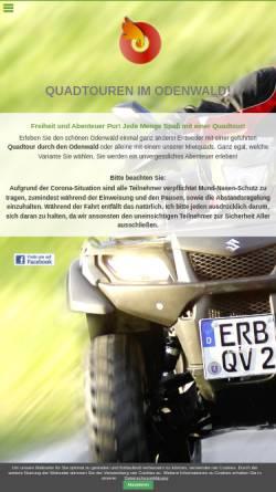 Vorschau der mobilen Webseite www.quadshop-online.de, Quadvermietung Odenwald