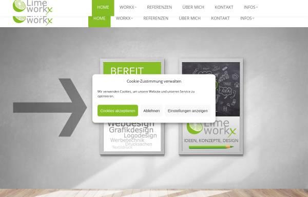 Vorschau von www.lime-workx.com, Lime workx, Martin Kramer