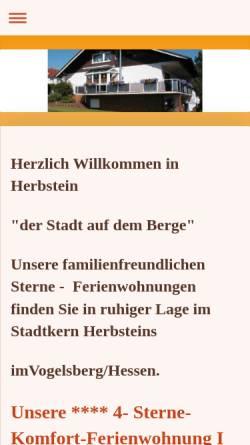 Vorschau der mobilen Webseite www.ferienwohnungrobertschad.de, Ferienwohnung Robert Schad