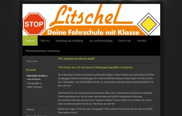 Vorschau von www.fahrschule-litschel.de, Fahrschule Litschel
