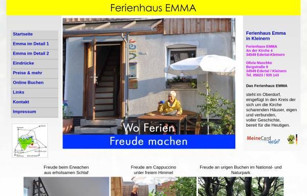Vorschau von www.ferienhaus-emma-o-maschke.de, Ferienhaus Emma, Olivia Maschke
