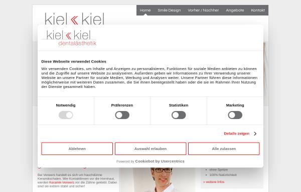 Vorschau von www.smiledreams.de, Kiel & Kiel Dental Aesthetik GmbH
