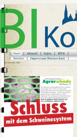 Vorschau der mobilen Webseite lebenswertes-korbach.org, Bürgerinitiative (BI) lebenswertes Korbach e.V.