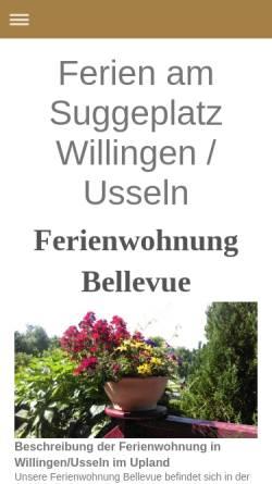 Vorschau der mobilen Webseite www.ferien-am-suggeplatz.de, Ferienhaus am Suggeplatz