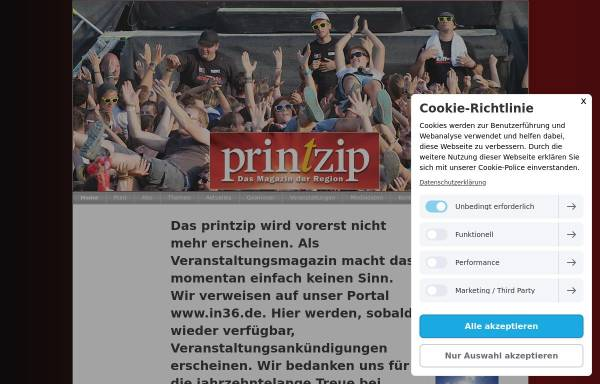 Vorschau von www.printzip.de, Printzip