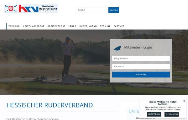 Vorschau von www.hessischerruderverband.de, Hessischer Ruderverband e.V.
