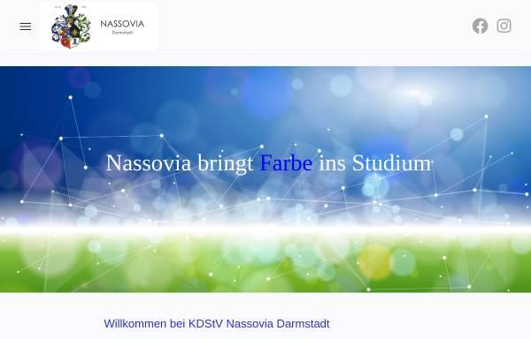 Vorschau von www.nassovia.de, Nassovia zu Darmstadt
