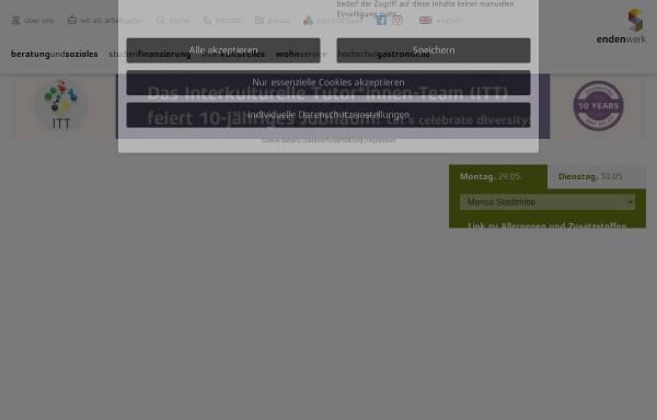 Vorschau von www.studierendenwerkdarmstadt.de, Studierendenwerk Darmstadt