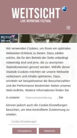 Vorschau der mobilen Webseite www.weitsicht-darmstadt.de, Weitsicht Festival