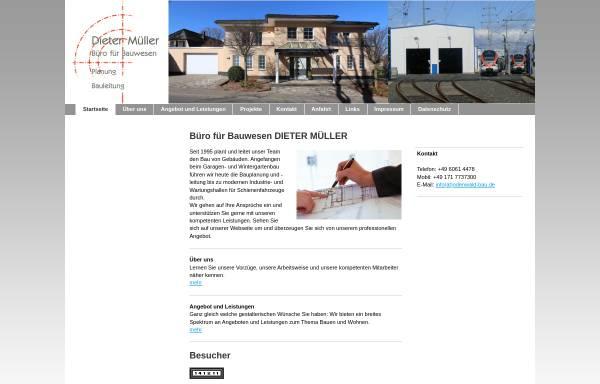 Vorschau von odenwald-bau.de, Dieter Müller - Büro für Bauwesen