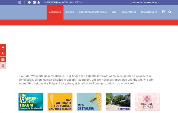 Vorschau von waldorfschule-frankfurt.de, Freie Waldorfschule Frankfurt