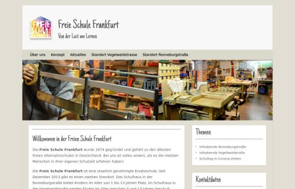 Vorschau von www.freie-schule-frankfurt.de, Freie Schule Frankfurt