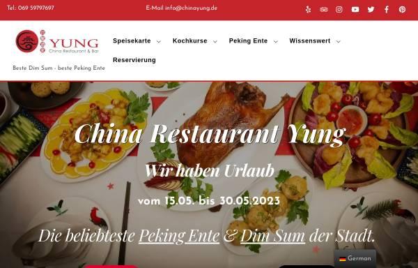 Vorschau von chinayung.de, China Restaurant Yung