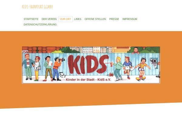 Vorschau von www.kids-frankfurt.org, Verein Kinder in der Stadt Kids Frankfurt e.V.