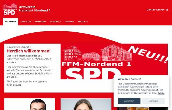 Vorschau von www.nordendspd.de, SPD-Ortsvereine Nordend