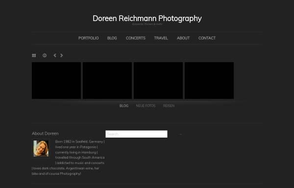 Vorschau von www.doreen.es, Doreen.es - Konzertfotografie in Hamburg