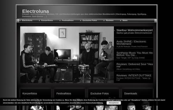 Vorschau von www.electroluna.de, Electroluna - Konzertfotos