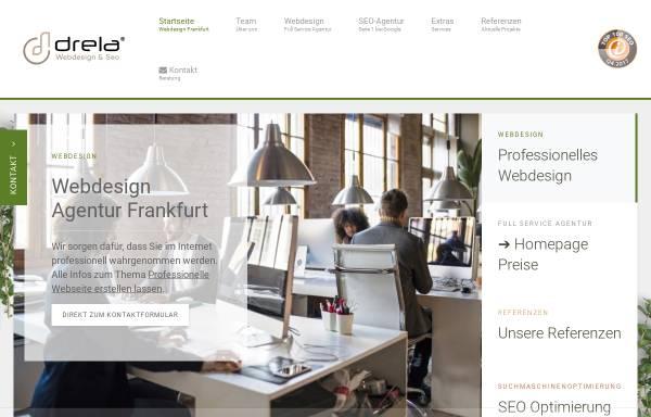 Vorschau von www.drela.de, Drela GmbH