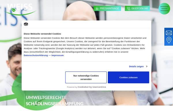 Vorschau von www.weiss-hygiene.de, Weiss Hygiene-Service GmbH