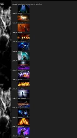 Vorschau der mobilen Webseite www.metalbilder.de, Metalbilder.de