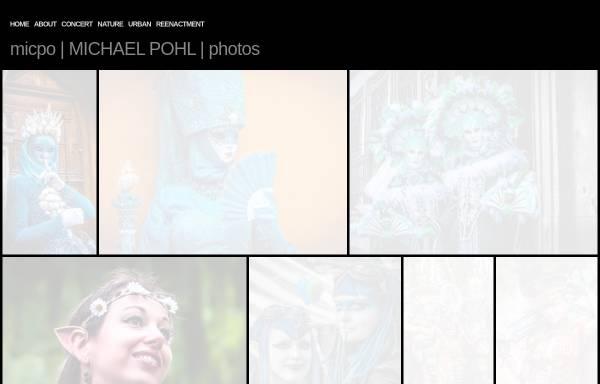 Vorschau von www.micpo.de, Michael Pohl, Konzert- und Portraitfotograf