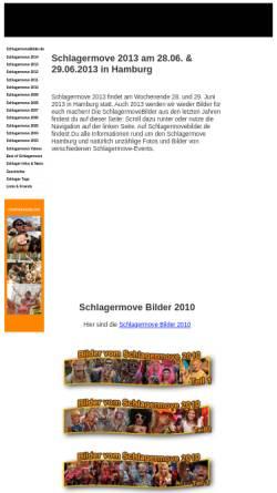 Vorschau der mobilen Webseite www.schlagermovebilder.de, Schlagermovebilder