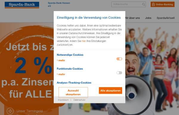 Vorschau von www.sparda-hessen.de, Sparda-Bank Hessen eG