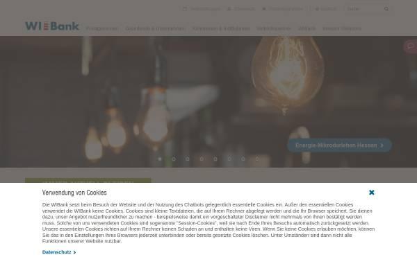 Vorschau von www.wibank.de, InvestitionsBank Hessen AG