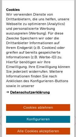 Vorschau der mobilen Webseite darstellende-kuenste.de, Bundesverband Freie Darstellende Künste e.V.