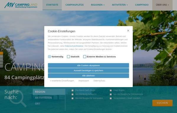 Vorschau von www.vcwmv.de, Verband für Camping- und Wohnmobiltourismus in Mecklenburg-Vorpommern e.V. (VCWMV)
