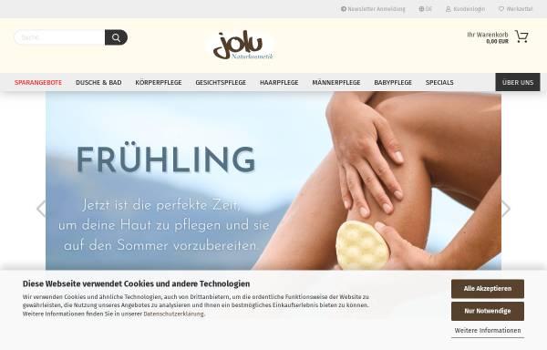 Vorschau von www.jolu.eu, Jolu - Seifensiederei & Naturkosmetik, Carina Benkert