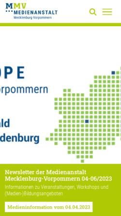 Vorschau der mobilen Webseite www.nb-radiotreff.de, NB-Radiotreff 88,0