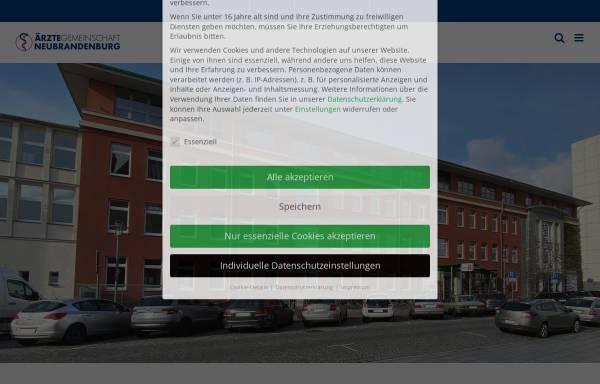 Vorschau von www.medizin-nb.de, Ärztehaus an der Marienkirche - Medizin NB