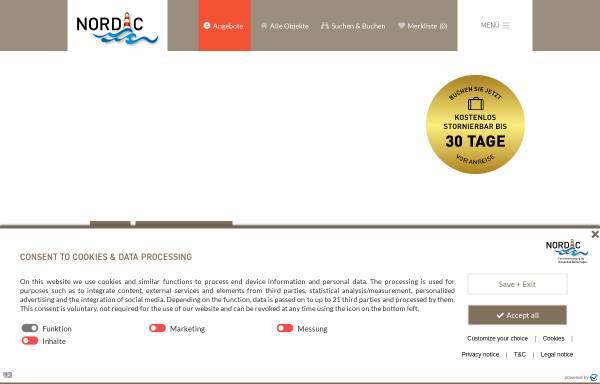 Vorschau von www.boltenhagen.com, Nordic Immobilien- und Appartementvermittlungsgesellschaft mbH